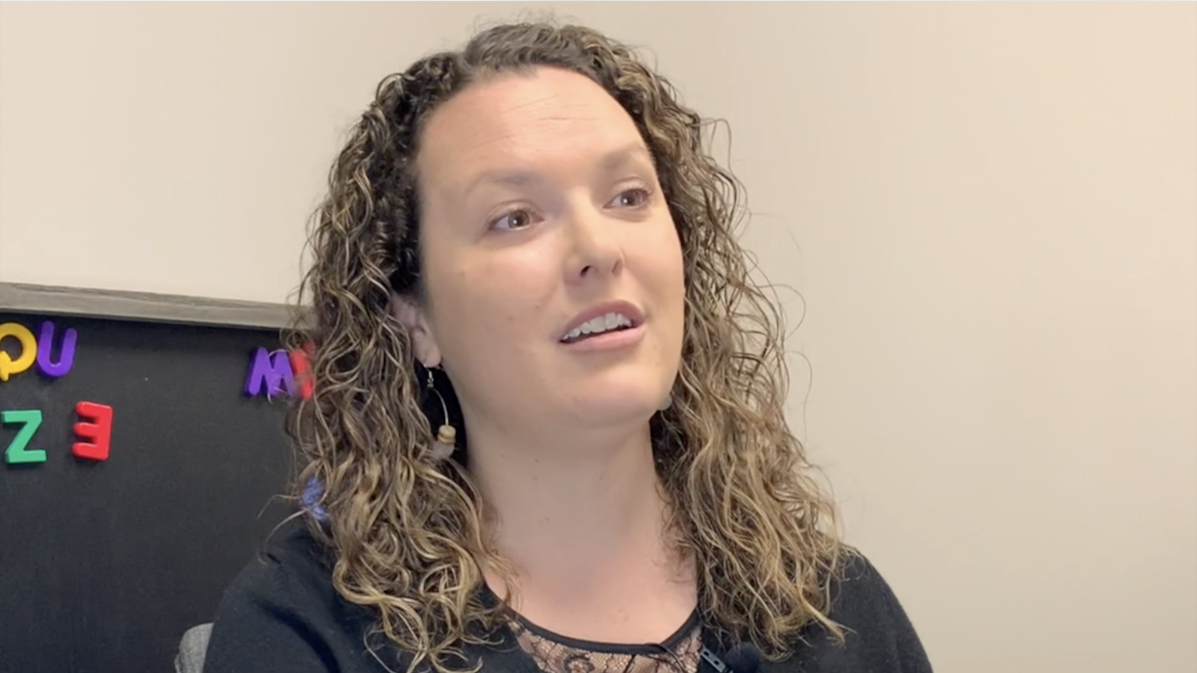 Cassie Krause talks about her relationships with her patients
